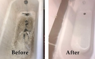 Bathroom Tub Reglazing