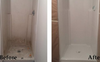 Bathroom Shower Reglazing