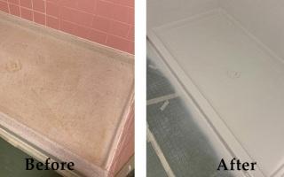 Bathroom Shower Reglazing